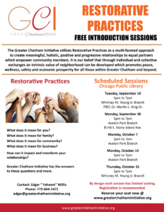 Restorative Practice Free introduction Sessions