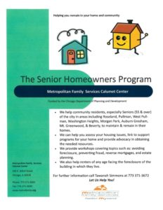 Senior Homeowners Program